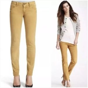 CAbi gold ruby skinny jeans pants, style 502